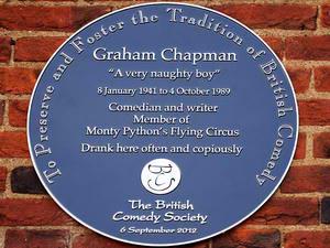 Showbiz_graham_chapman_blue_plaque_1