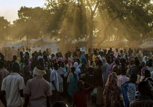 Refugees from S Kordofan at YIDa camp AFP FILE Camille Lepage
